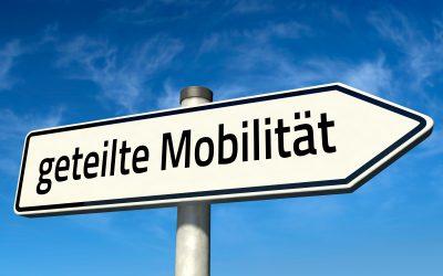 Kommunales Mobilitätsmanagement – geteilte Mobilität