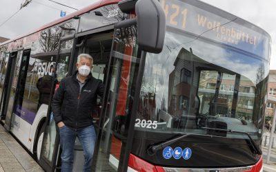 Die neue Buslinie 421 zwischen Braunschweig und Wolfenbüttel