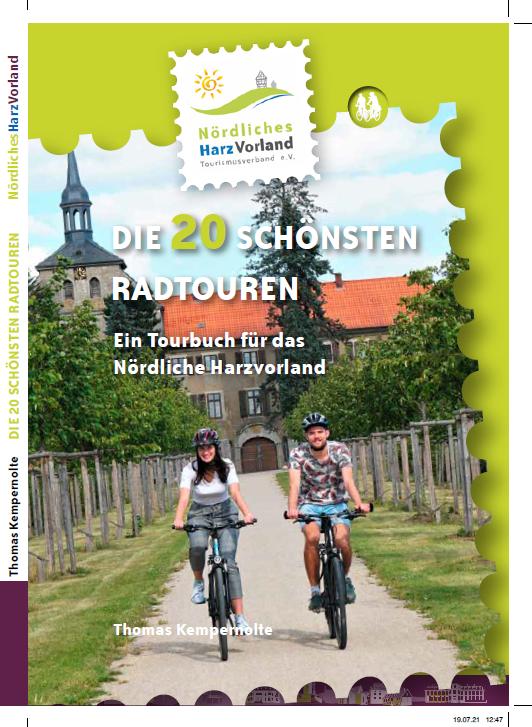 Umschlag eines Buches mit zwei Radfahrern im Landkreis Wolfenbüttel