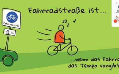 Fahrradstraße ist…