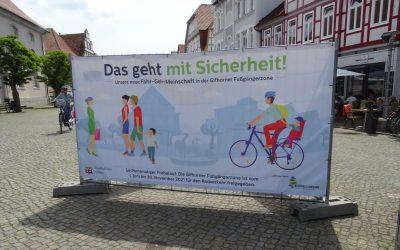 Probeweise ganztägige Öffnung der Fußgängerzone für den Radverkehr in Gifhorn