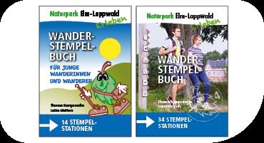 Das Wanderstempelbuch für den Naturpark Elm-Lappwald